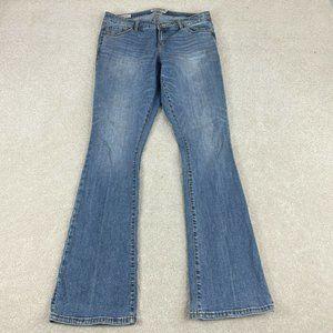 Torrid Denim First At Fit Jeans 14 Slim Bootcut